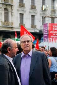 Με τον πρώην πρόεδρο του ΣΥΝΑΣΠΙΣΜΟΥ Νίκο Κωσταντόπουλο