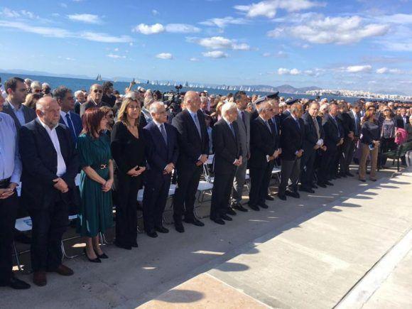 Αποκαλυπτήρια μνημείου πεσόντων εφέδρων και εθελοντών Κωνσταντινουπολιτών