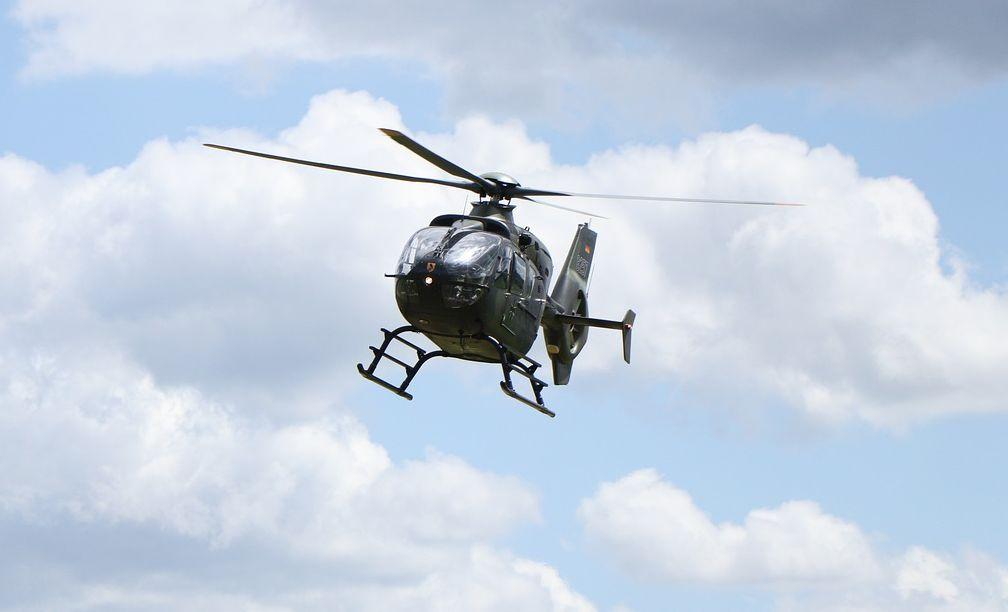 Ένα ελικόπτερο στην ΕΡΤ